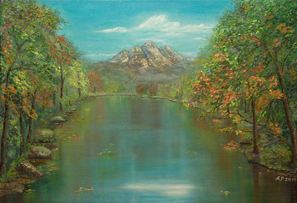 """Oil painting """"Autumn"""""""